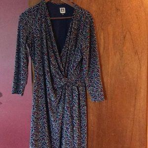 Anne Klein wrap dress large